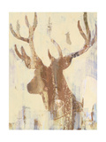 Golden Antlers II Neutral Grey