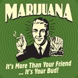Marijuana! it's More Than a Friend  it's Your Bud!