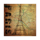 Paris Giclée par Bill Cannon