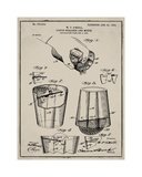 Cocktail Mixer 1903 Tan
