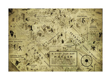 A night club map of Harlem Giclée par Bill Cannon