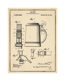 Beer Stein 1914 Sepia