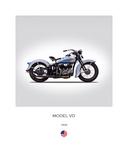 Harley Davidson Model VD 1935