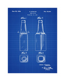 Beer Bottle 1934 Blueprint