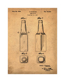 Beer Bottle 1934 Sepia