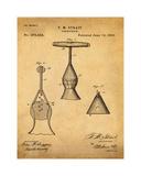 Corkscrew 1883 Sepia