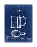 Beer Mug Blue