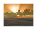 USA  Hawaii  Kauai  sunset