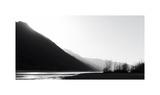 B&W glacial river