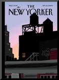 Finger Painting: New Day - The New Yorker Cover  September 21  2009
