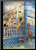 The New Yorker Cover - July 28  2008