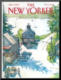 The New Yorker Cover - July 4  1983