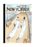Wedding Season - The New Yorker Cover  July 25  2011
