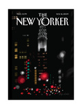 Night Lights - The New Yorker Cover  November 16  2009