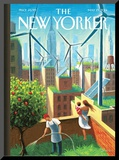 A Bright Future - The New Yorker Cover  May 19  2014