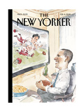 The Big Game - The New Yorker Cover  February 6  2012