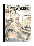 The New Yorker Cover - February 1  2016