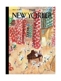 Tiny Dancers - The New Yorker Cover  March 31  2014