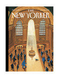 The New Yorker Cover - January 28  2008