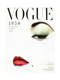 Vogue Cover - January 1950 - Doe Eye