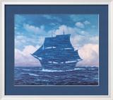 Le séducteur Reproduction encadrée par Rene Magritte