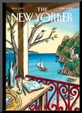 Drawing While Waiting - The New Yorker Cover  April 18  2011