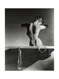 Vogue - September 1939 - Mainbocher Corset