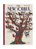 The New Yorker Cover - February 12  1938