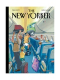 The New Yorker Cover - April 16  2012