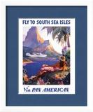 Fly to the South Seas Isles  via Pan American Airways  c1940s