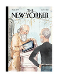 The Book of Life - The New Yorker Cover  October 17  2011
