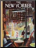 The New Yorker Cover - February 5  1996