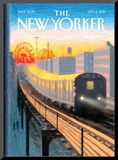 Coney Island Express - The New Yorker Cover  September 5  2011