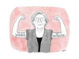 She was warned Nevertheless she persisted - Cartoon