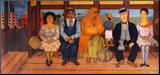 L'autobus Reproduction montée par Frida Kahlo