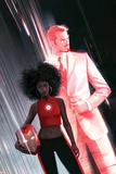 Invincible Iron Man 1 Variant Cover Art Featuring Ironheart  Riri Williams  Tony Stark