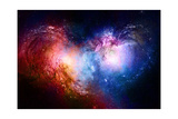 Nebula  Cosmic Space and Stars  Blue Cosmic Abstract Background Elements of this Image Furnished B
