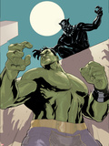 The Totally Awesome Hulk 10 Panel Featuring Black Panther  Totally Awesome Hulk
