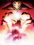 Uncanny Inhumans 14 Cover Art Featuring Iron Man