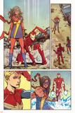 Ms Marvel 11 Panel Featuring Ms Marvel (Kamala Khan)  Iron Man  Captain Marvel
