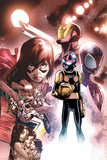 Nova 11 Panel Featuring Ms Marvel  Iron Man  Nova  Ultimate Spider-Man Morales & More