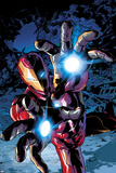 Invincible Iron Man 13 Cover Art Featuring Iron Man