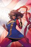 Ms Marvel 13  Flag Cover Art