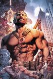 Civil War II: Gods of War 4 Cover Art Featuring Hercules