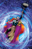 All-New  All-Different Avengers 15 Panel Featuring Thor (Female)