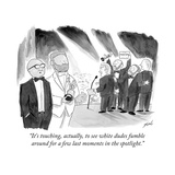 """""""It's touching  actually  to see white dudes fumble around for a few last …"""" - Cartoon"""