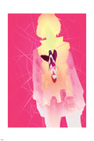 Spider-Gwen Annual 1 Cover Art Featuring Gwen Stacy  Upside Down