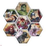 Avengers Panel Featuring Hulk  Bruce Banner