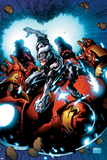 Uncanny Avengers 12 Cover Art Featuring Ultron  Hulkbuster