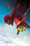 International Iron Man 7 Cover Art Featuring Iron Man  Tony Stark